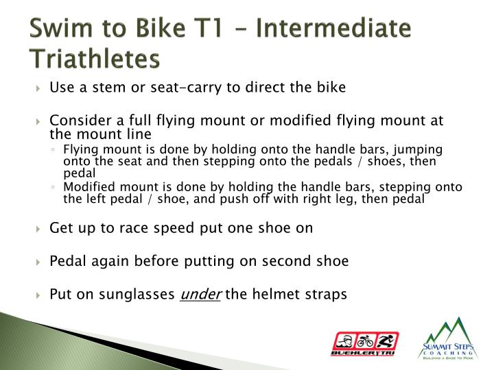 Swim to Bike T1 – Intermediate