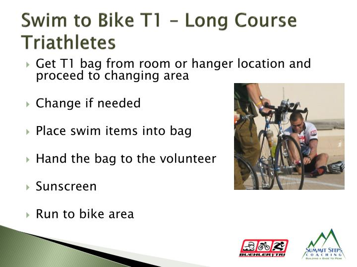 Swim to Bike T1 – Long Course Triathletes
