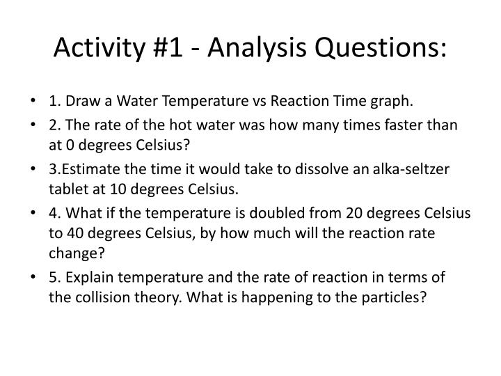 Activity #1 - Analysis Questions: