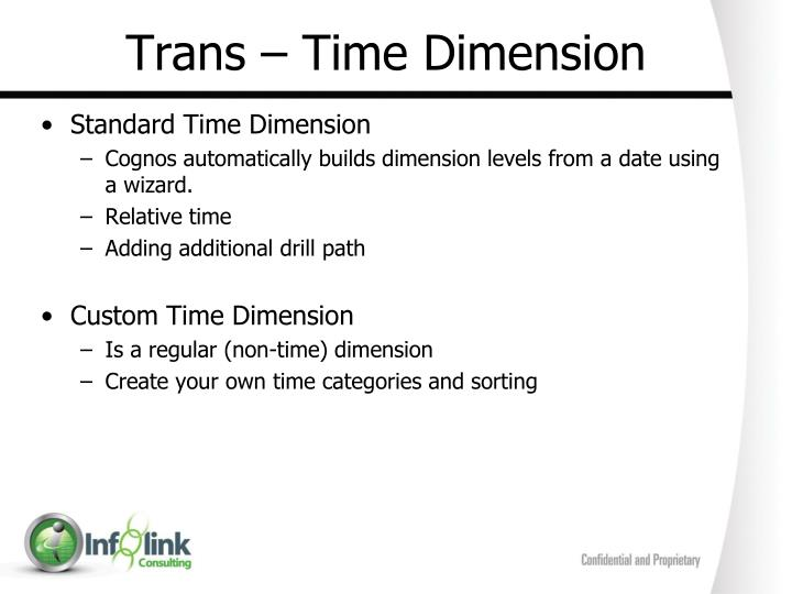 Trans – Time Dimension