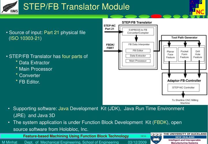 STEP/FB Translator Module