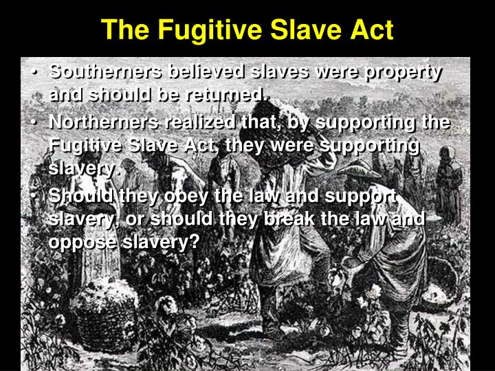 fugitive slave acts