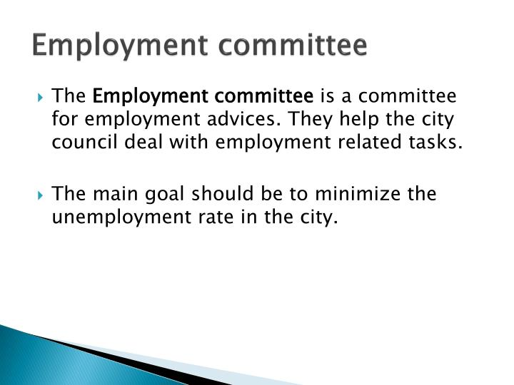 Employment committee
