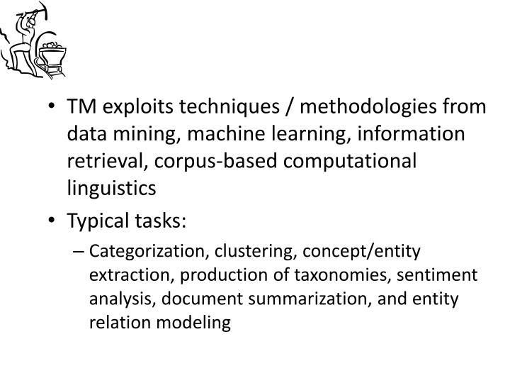 TM exploits techniques /