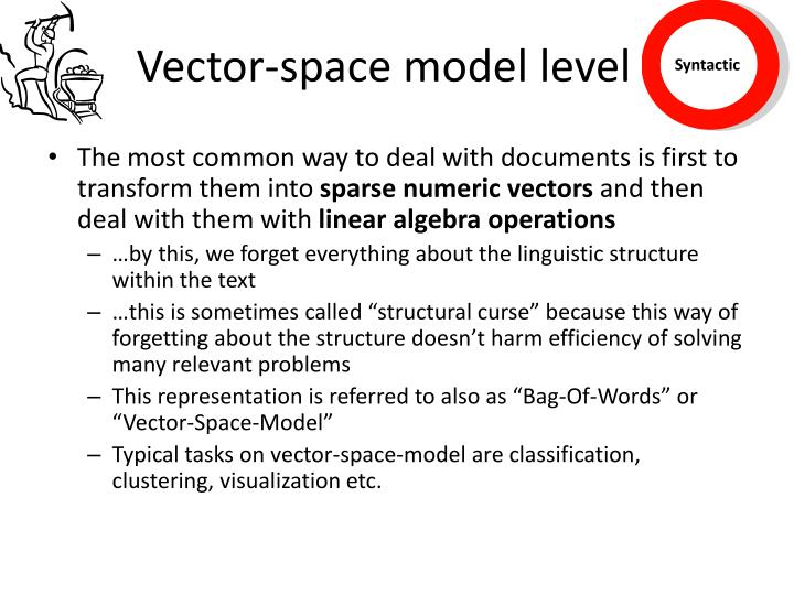 Vector-space model level