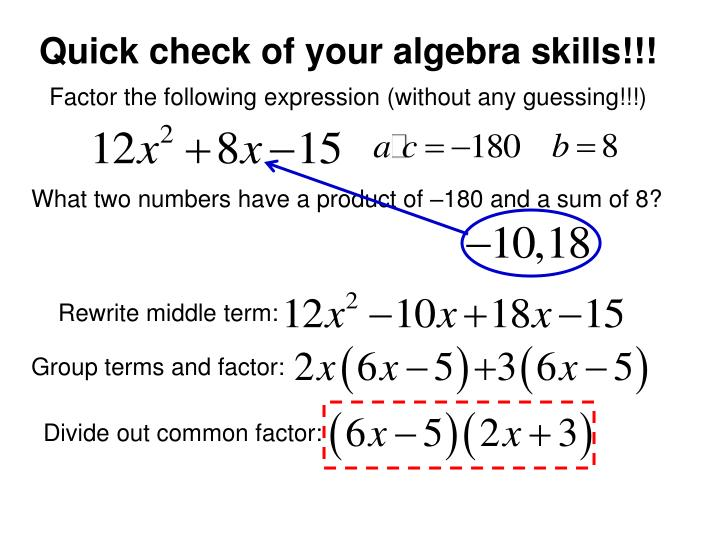 Quick check of your algebra skills!!!