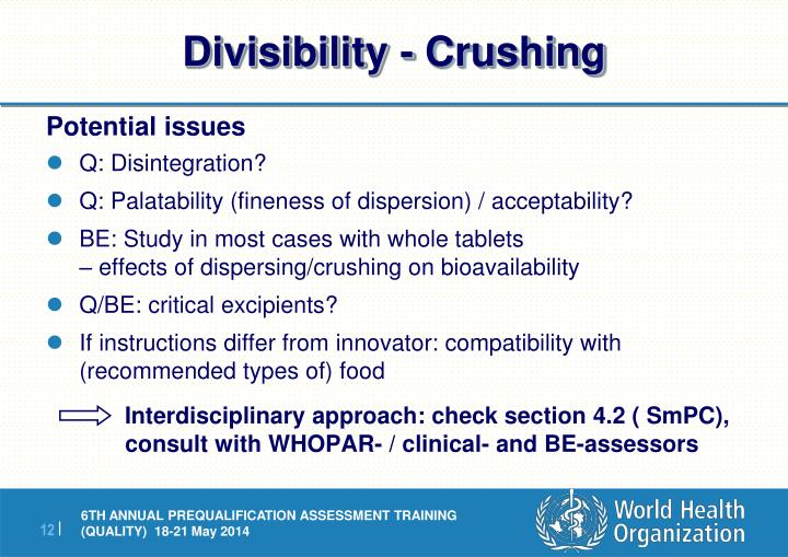 Divisibility - Crushing