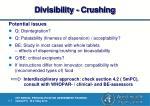 divisibility crushing1