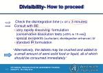 divisibility how to proceed