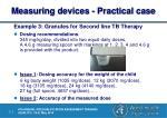 measuring devices practical case10