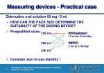 measuring devices practical case4
