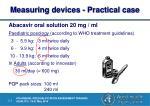 measuring devices practical case6