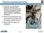 thermo mechanical pump