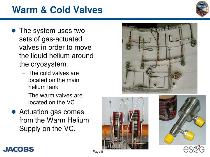 Warm & Cold Valves