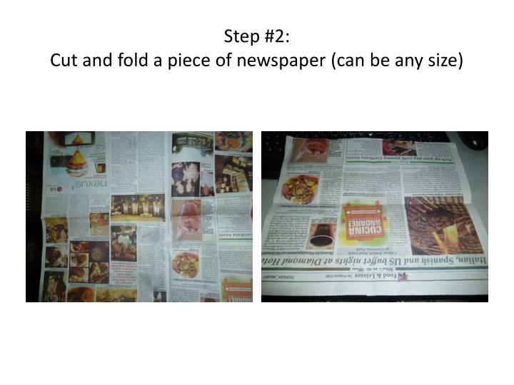 Step #2: