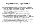 eigenvectors eigenvalues1