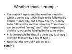 weather model example