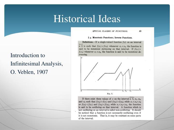 Historical Ideas
