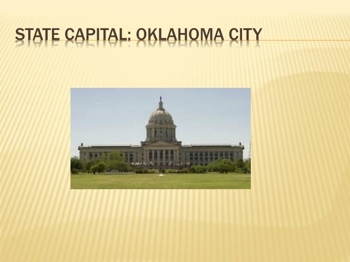 State capital: