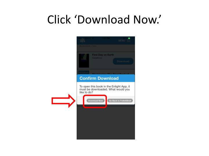Click 'Download Now.'
