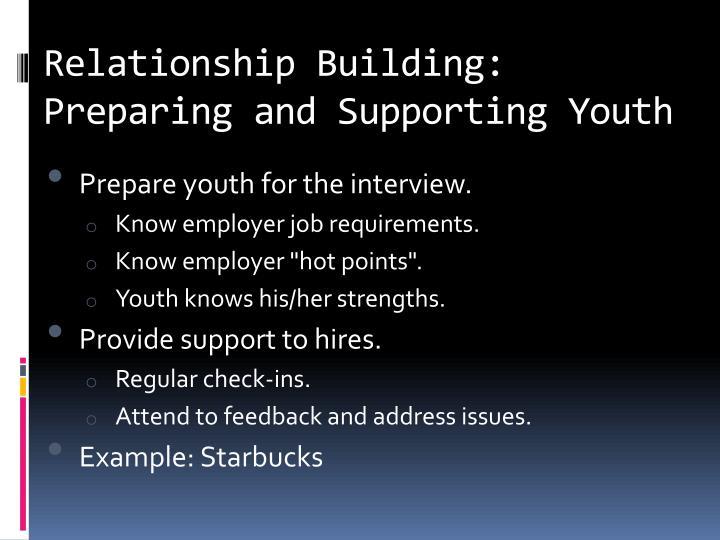 Relationship Building: