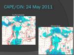 cape cin 24 may 2011