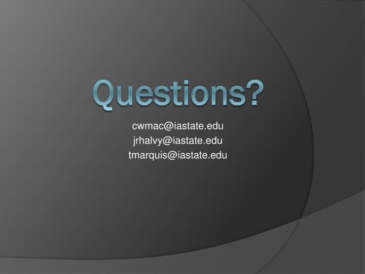 cwmac@iastate.edu