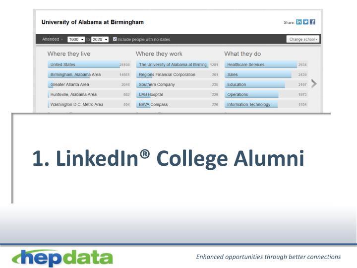 1. LinkedIn