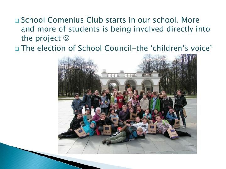 School Comenius Club