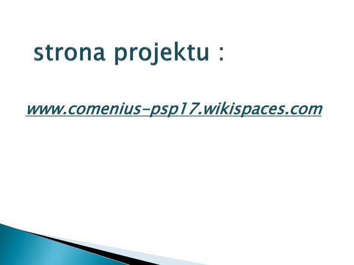 strona projektu :