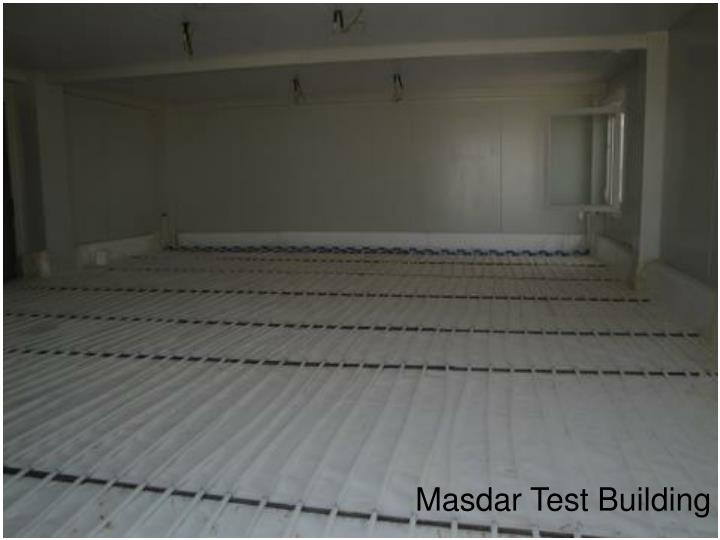 Masdar Test Building