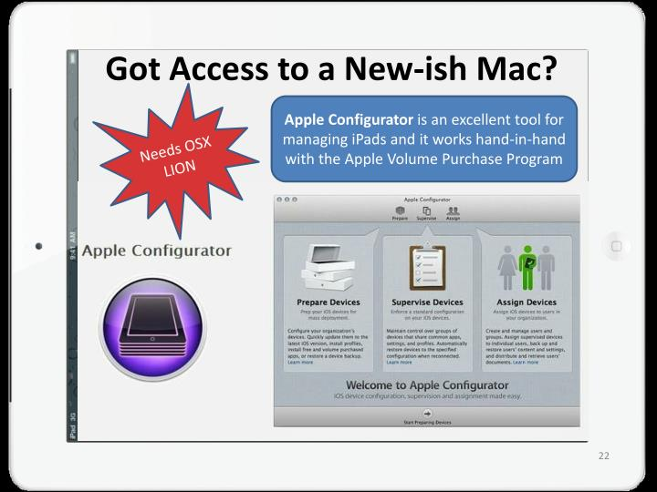 Got Access to a New-
