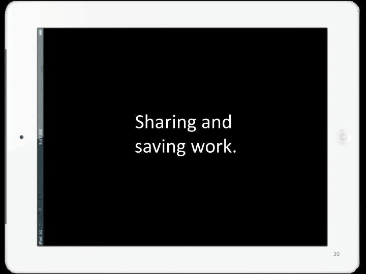 Sharing and