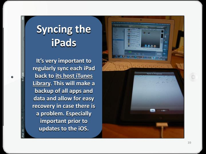 Syncing the