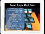 some apple ipad facts