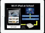 wi fi ipad at school