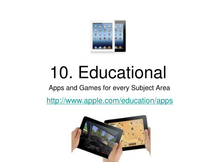 10. Educational