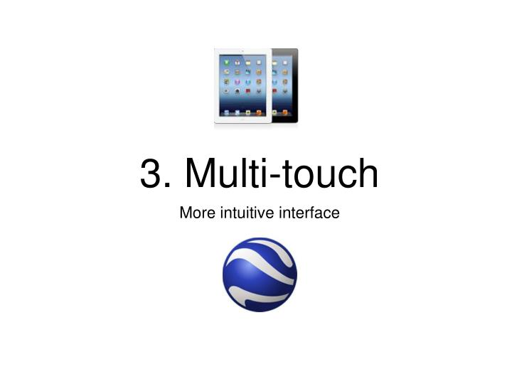 3. Multi-touch
