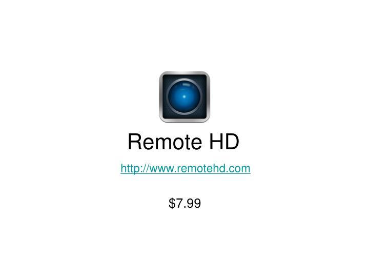 Remote HD