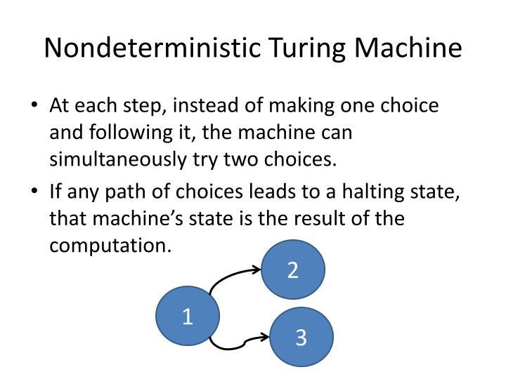 Nondeterministic Turing Machine