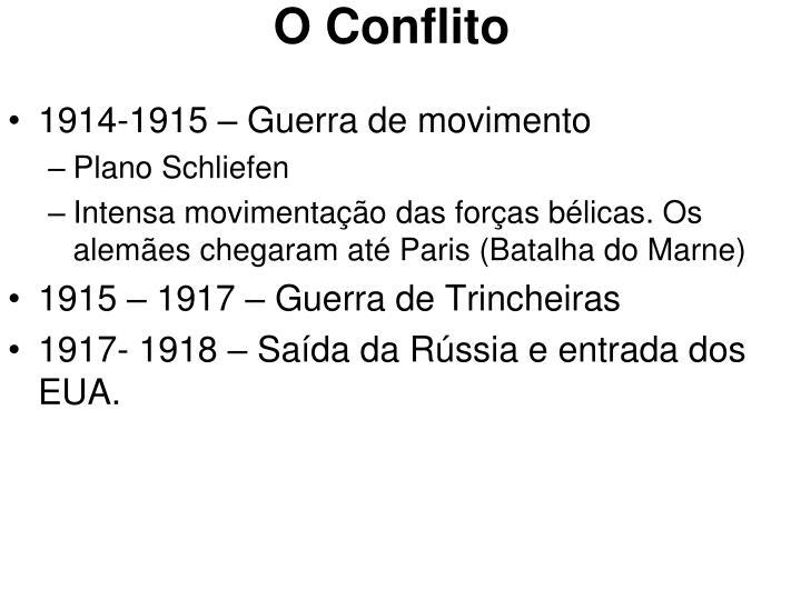 O Conflito