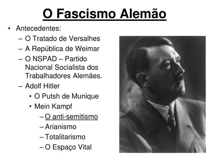 O Fascismo Alemão