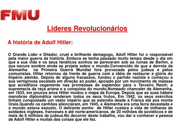Lideres Revolucionários