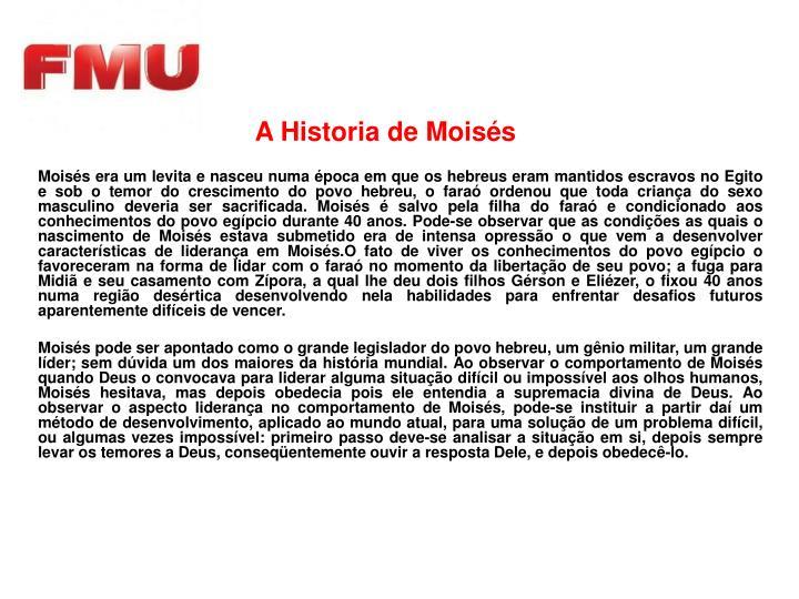 A Historia de Moisés