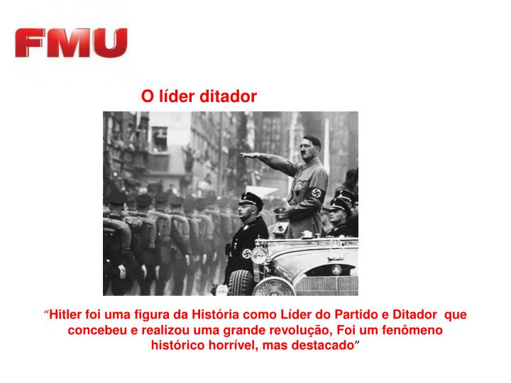 O líder ditador