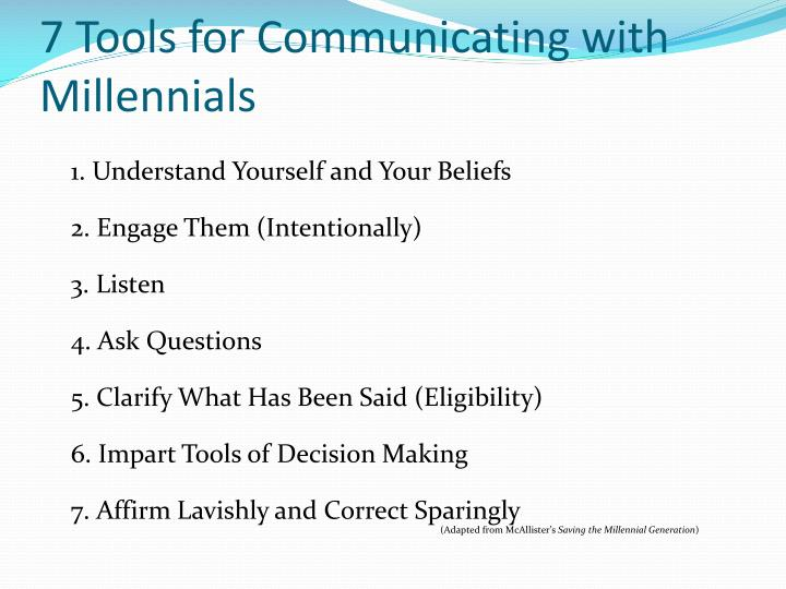 7 Tools for Communicating with