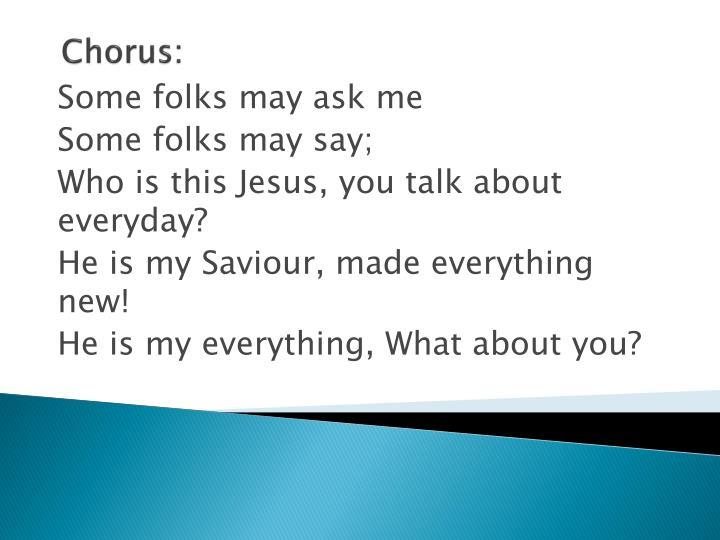 Chorus: