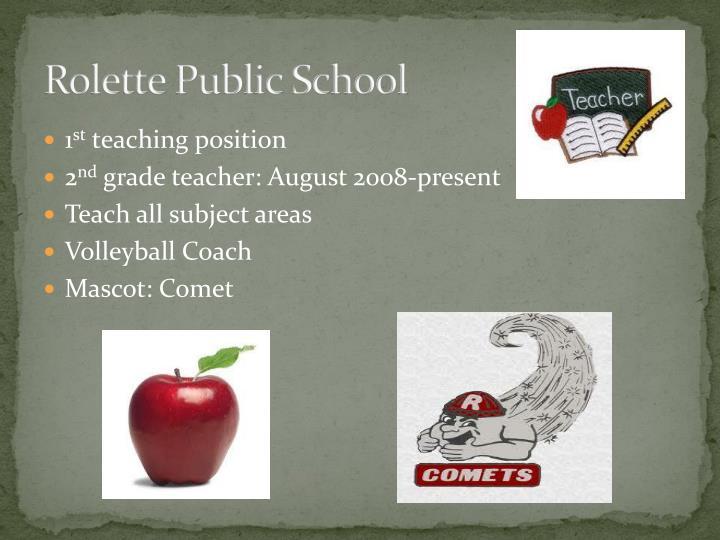 Rolette Public School