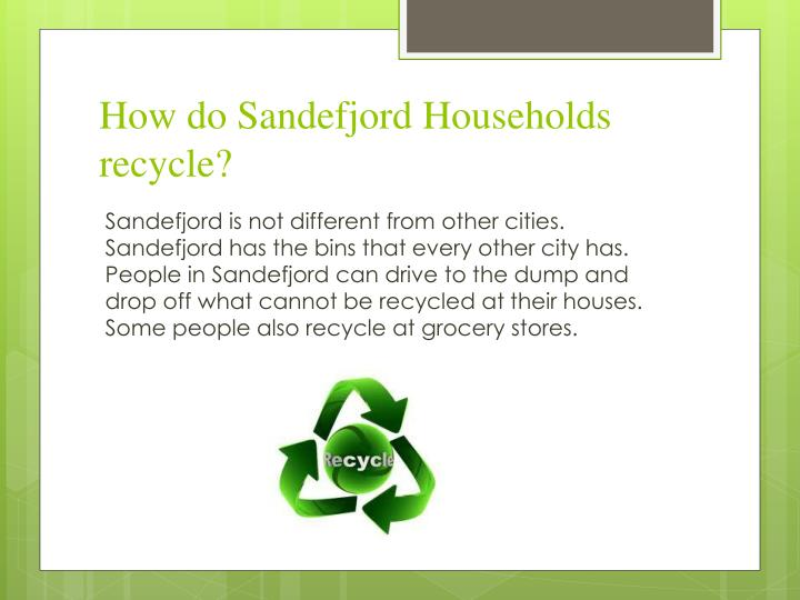 How do Sandefjord Households