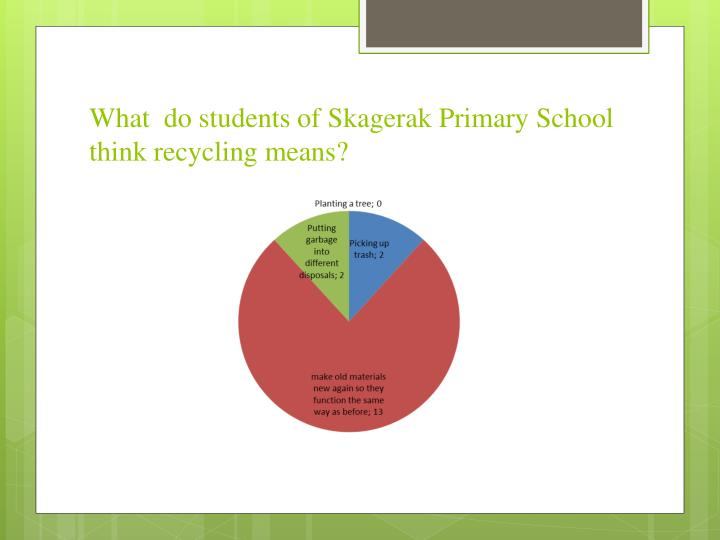 What  do students of Skagerak Primary School
